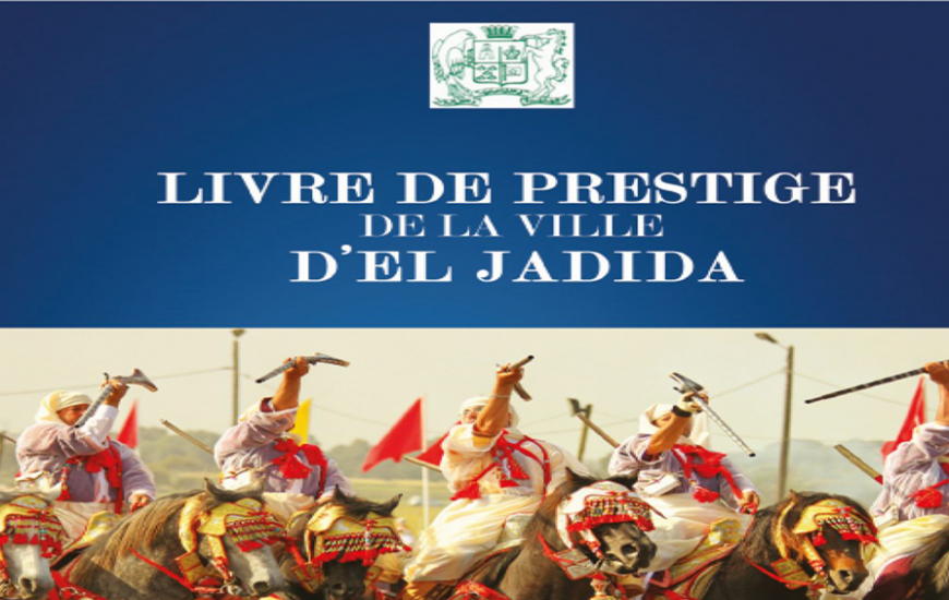 Livre de prestige de la ville d'El Jadida