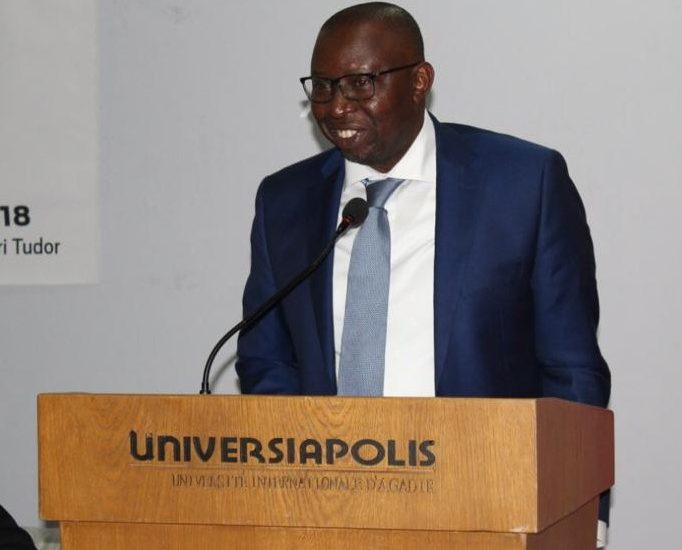 Discours du Pr. Bertin Leopold KOUAYEP à l'occasion de la 12ème Conférence de la Fondation Trophée de L'Africanité.