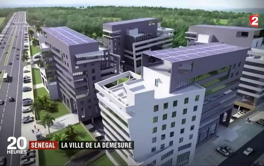 Sénégal : Diamniadio Lake City, la ville de futur