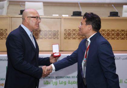 La Fondation Trophée de l'Africanité gratifiée de la médaille d'honneur  Icomos Maroc -Unesco