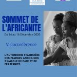 The Africanness Summit under the aegis of the United Nations Economic and Social Council is expected via videoconference on the 14th, 15th and 16th of December.