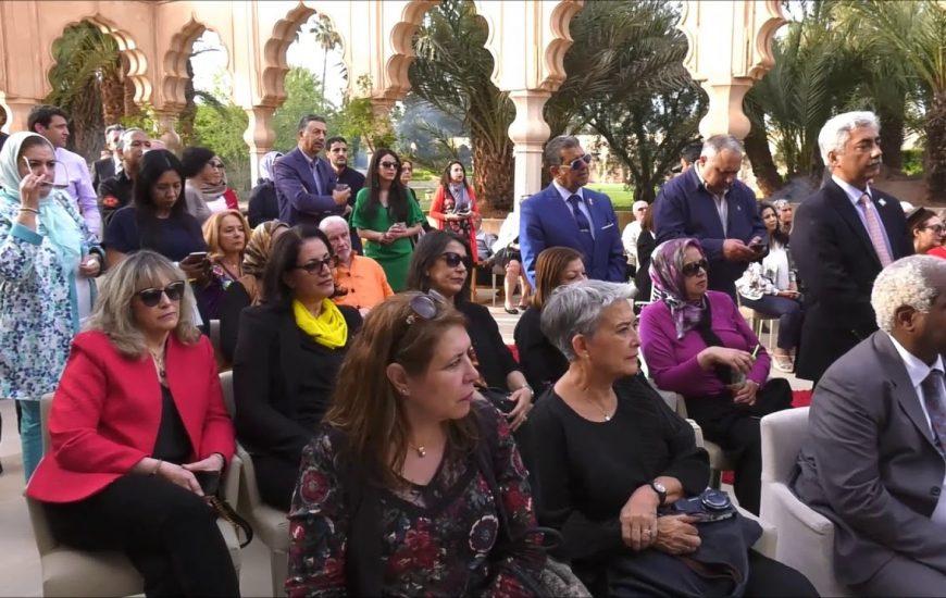 Marrakech : Trophée de l 'Africanité au Palais de Namaskar