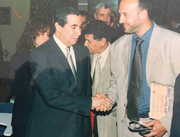Hommage au Wali Mohamed Gharrabi ( région Agadir) qui en 2000 m'a accordé son soutien dés notre premiére rencontre